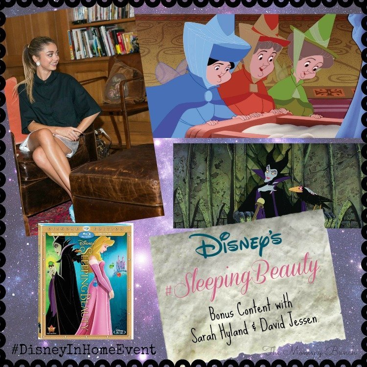 Sleeping Beauty bonus content, featuring Modern Family's Sarah Hyland!