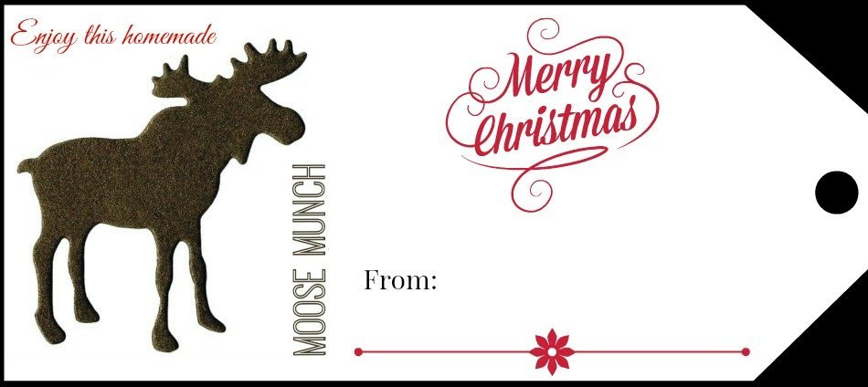 Moose Munch Merry Christmas
