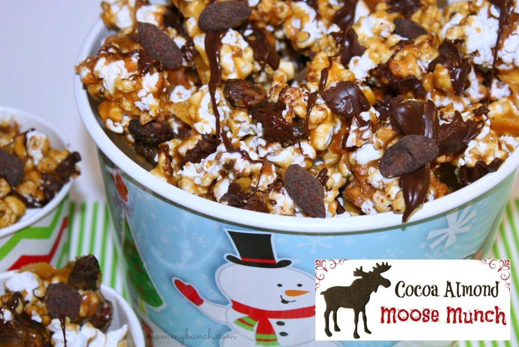 Homemade Cocoa Almond Moose Munch!