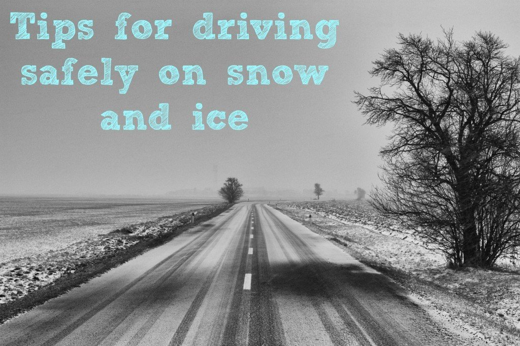 Safe driving on snow and ice