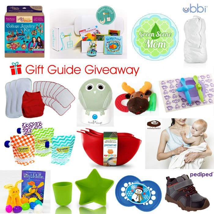 Green Scene Mom's Holiday Gift Guide Giveaway!