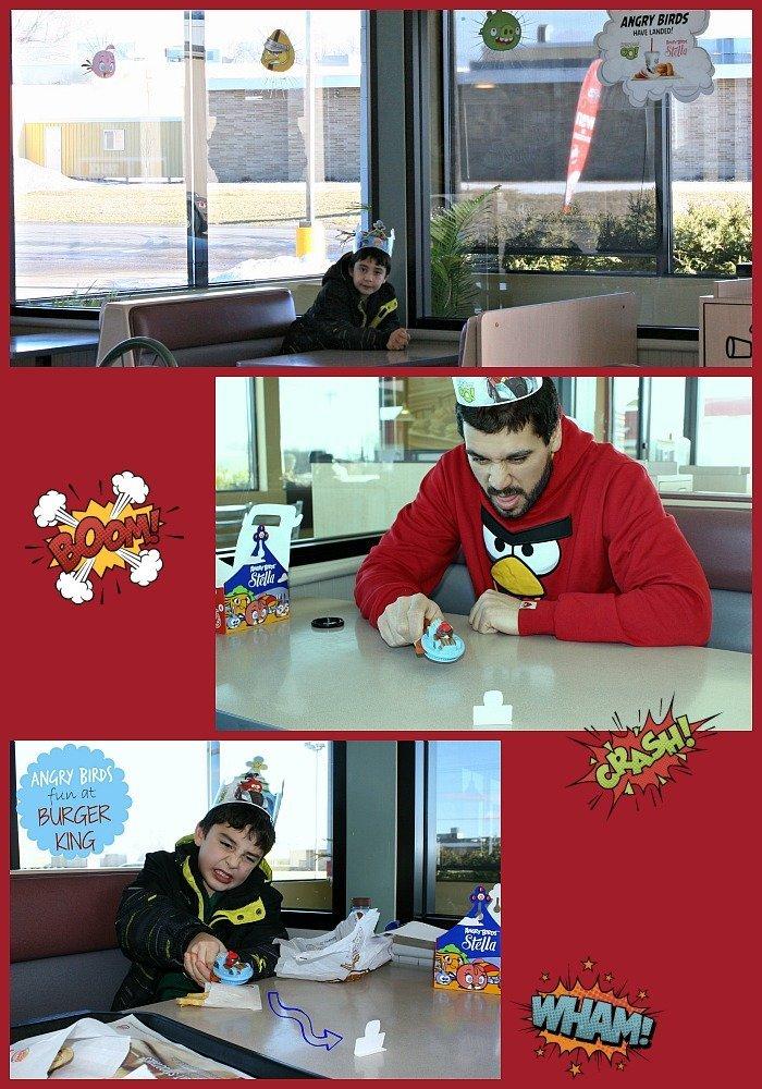 Angry Birds at Burger King