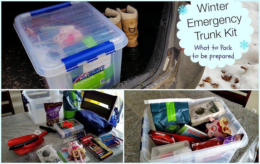 Create a Winter Car Emergency Kit