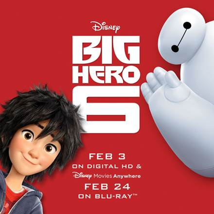 Attention: Big Hero 6 is on his way!