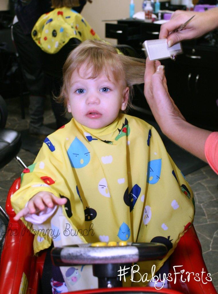 Baby's First Haircut - bangs
