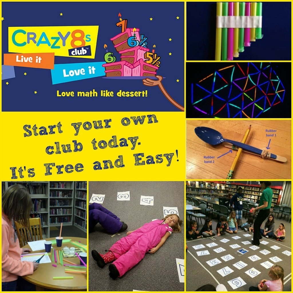 Help kids succeed in math with Crazy 8s Club