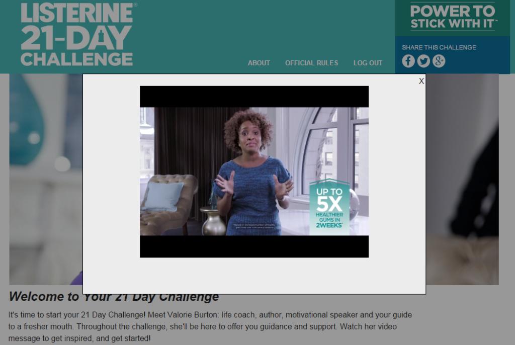 Listerine Challenge - Life Coach