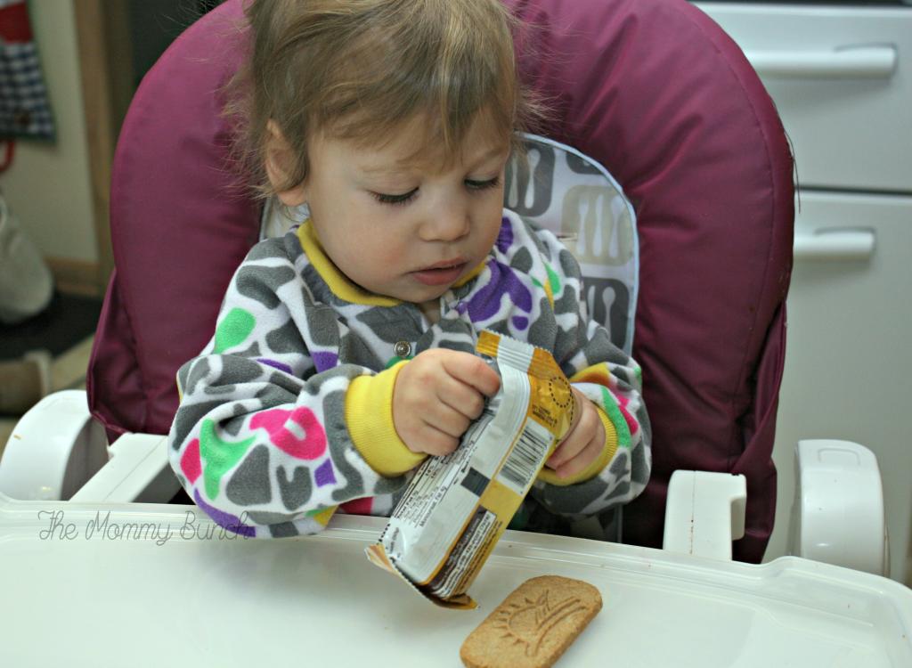 Breakfast biscuit baby