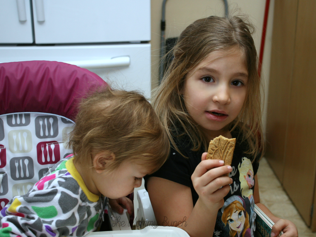 Breakfast biscuits kids