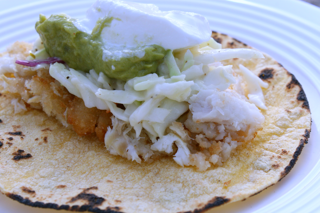Kids' favorite fish tacos – from freezer to table in less than 30 minutes!