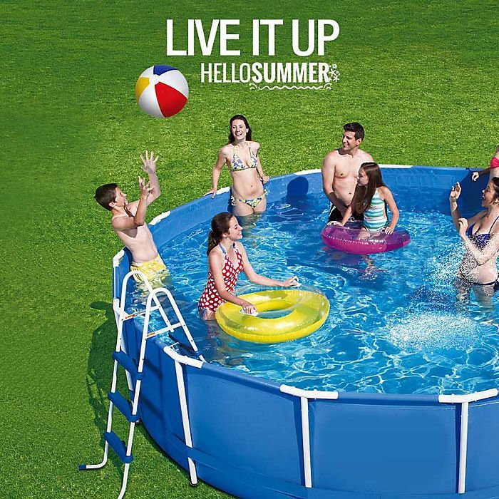 Summer is here! Live it up!