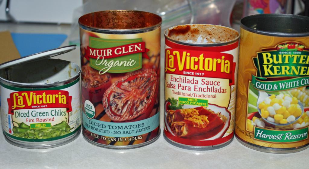 Quinoa Chicken Enchilada bowl - ingredients