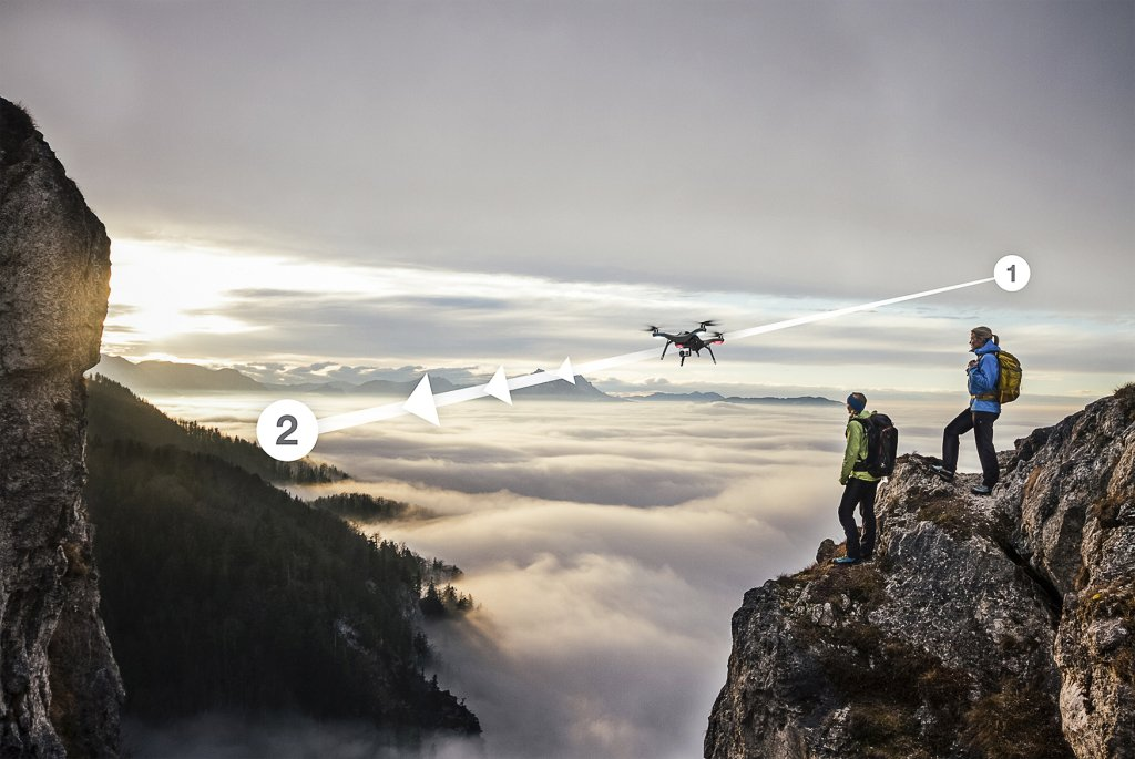 Take your GoPro experience to the next level with Solo Drone