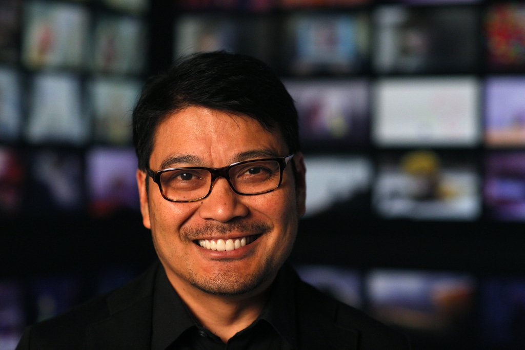 INSIDE OUT Co-Director Ronnie del Carmen. Photo by Debby Coleman. ©2015 Disney•Pixar. All Rights Reserved.