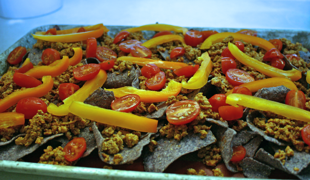 Loaded Nachos - veggies