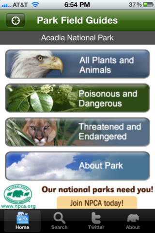 national parks field guide