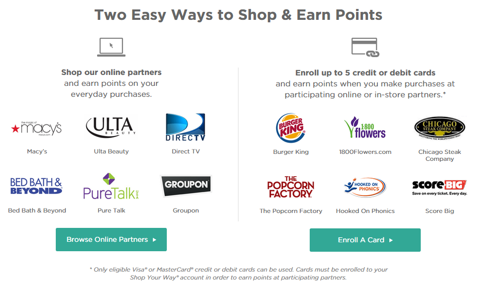 reward partners how to earn points