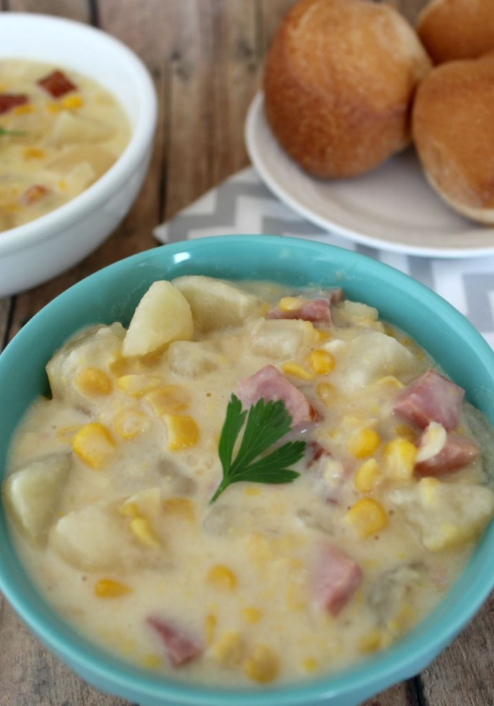 Crockpot Corn Chowder Soup