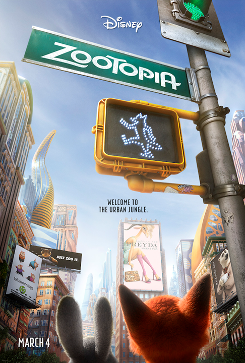 Introducing a sneak peak at Disney's newest: ZOOTOPIA!