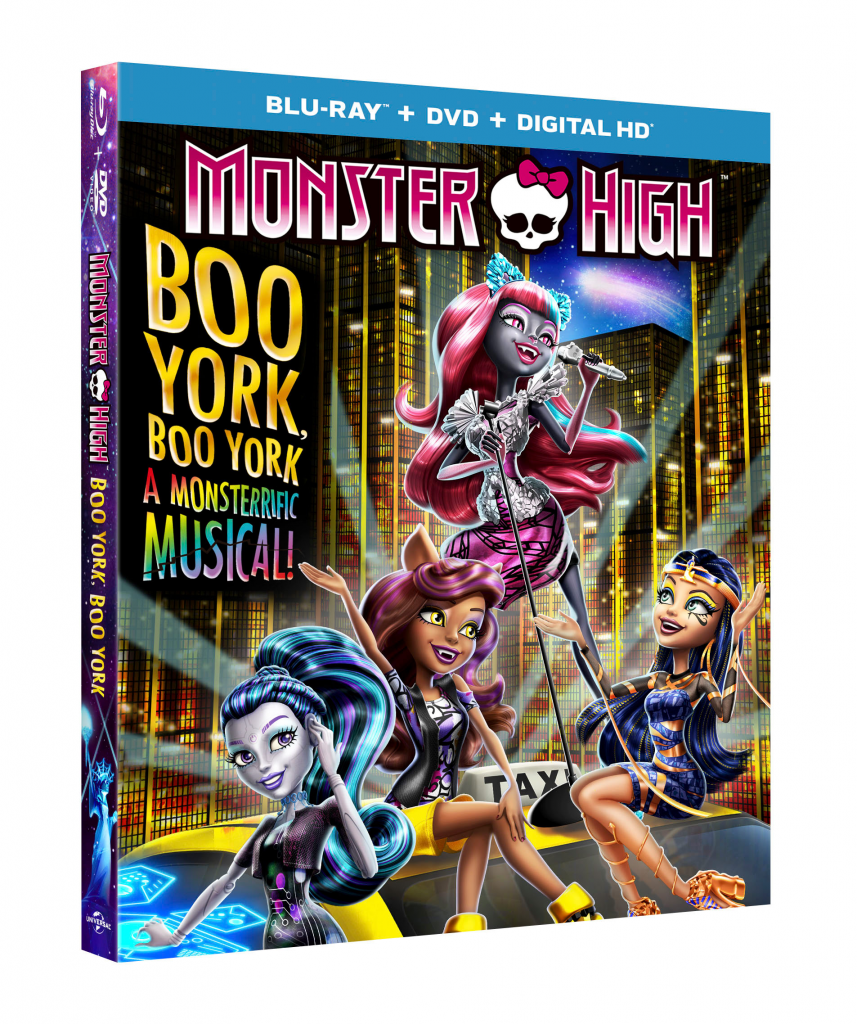 Monster High Boo York – Win one of four copies!