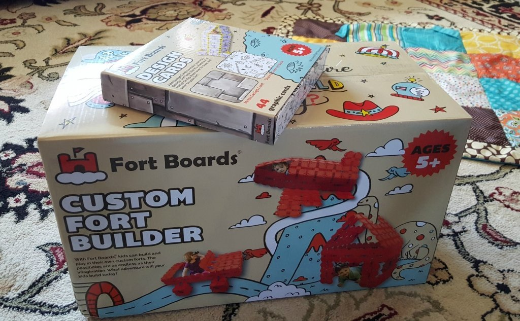Fort Boards fort building kits for kids!