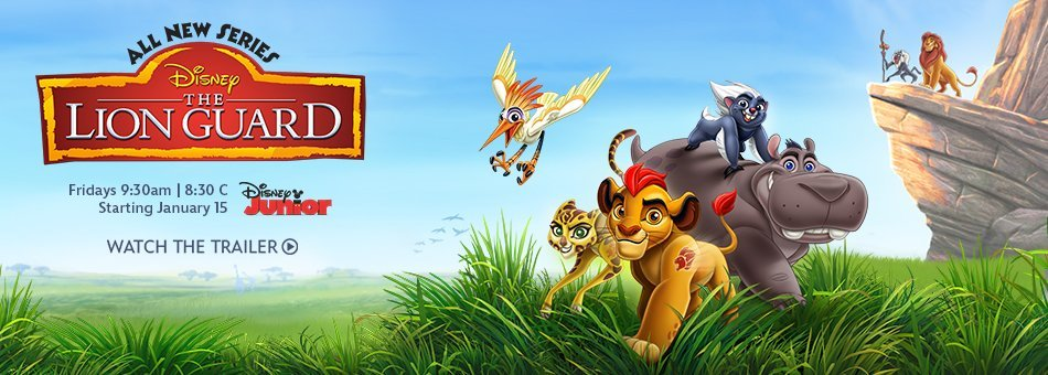 Did you hear his mighty ROAR? The Lion Guard comes to Disney Junior