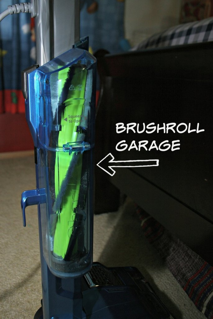 shark brushroll garage