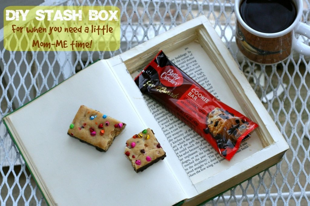 MomME time How To Make A Stash Box