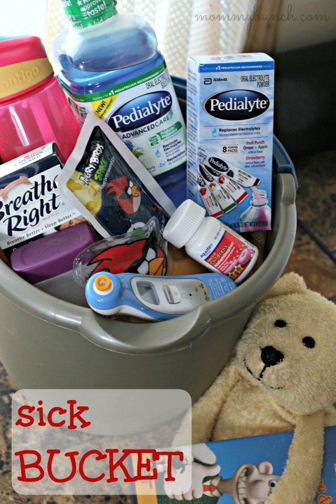 Sick Bucket Illness Kit