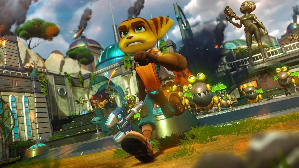 Play the game, based on the movie, based on the game – Ratchet & Clank for PS4!