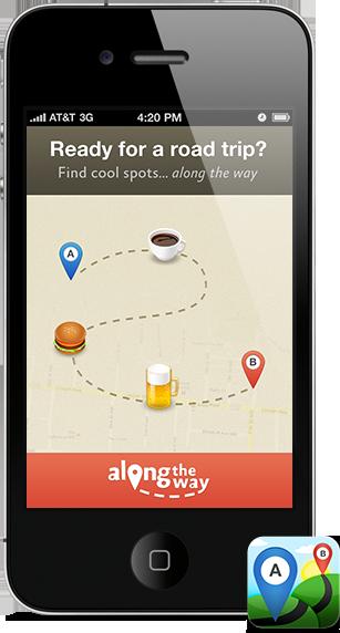 alongthewayapp-road-trips-app top apps for an unforgettable road trip