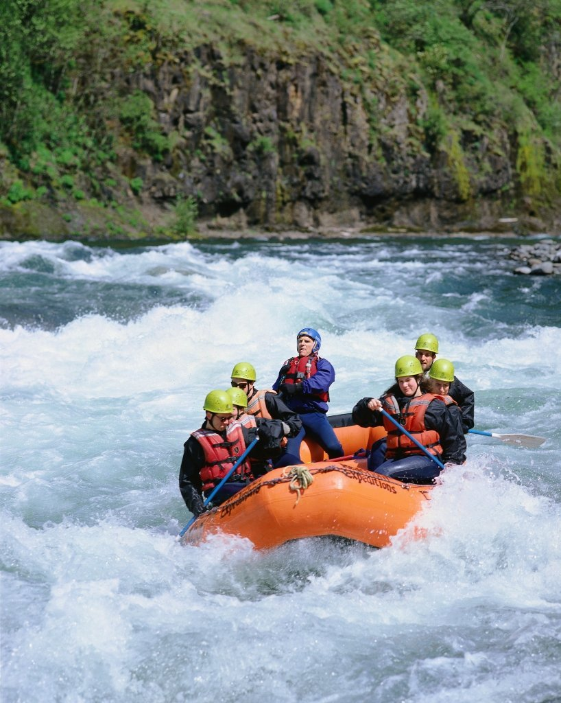 Outdoor Adventures on the Clackamas River in Oregon