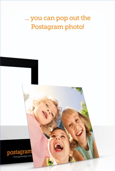 postagram memory making app