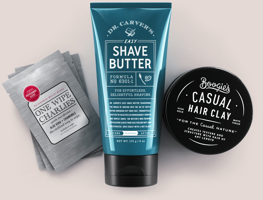 The Dollar Shave Club products