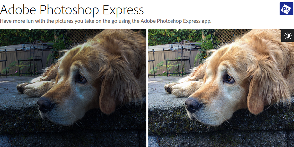 adobe photoshop express how to take better pictures