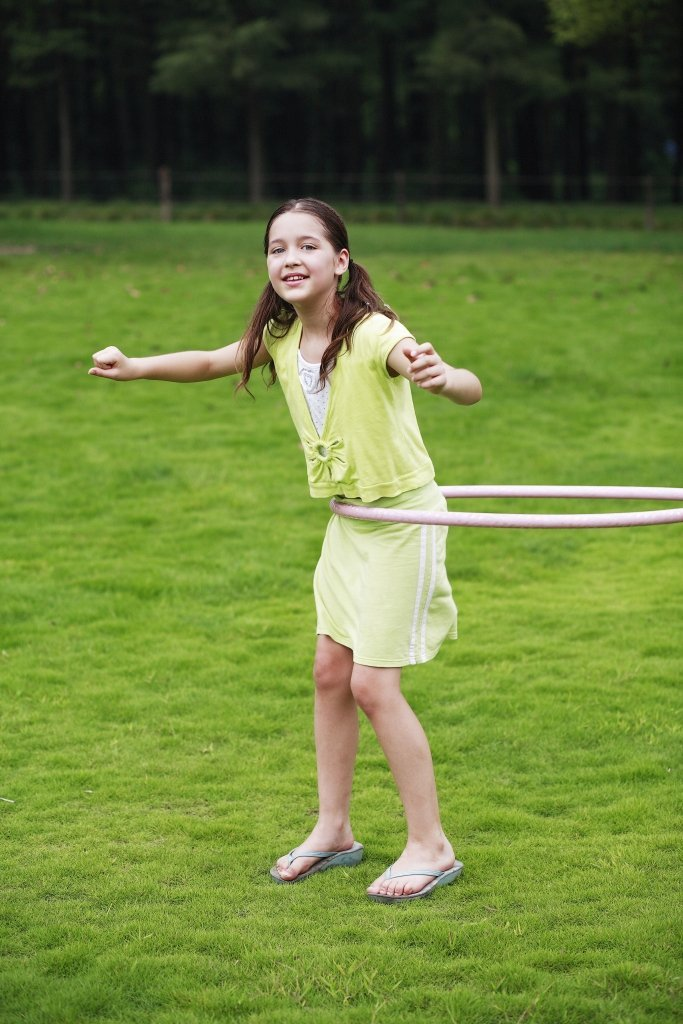 girl hula hoop FREE Kids Activities To Do In The Summer
