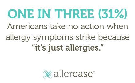allerease stats Reduce the Effects of Seasonal Allergies
