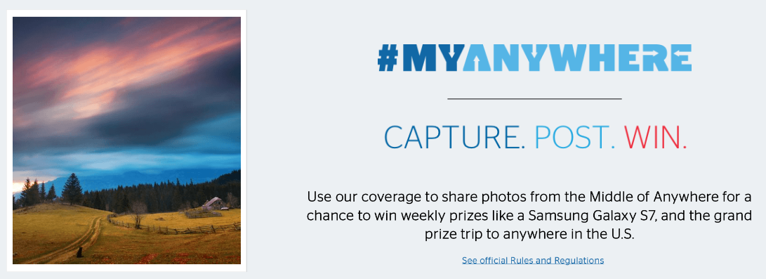 Share your Anywhere and Win with U.S. Cellular's #MyAnywhere Photo Contest!