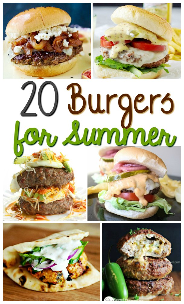 20 of the Best Gourmet Burgers for Summer Grilling – Rock Your Tastebuds!