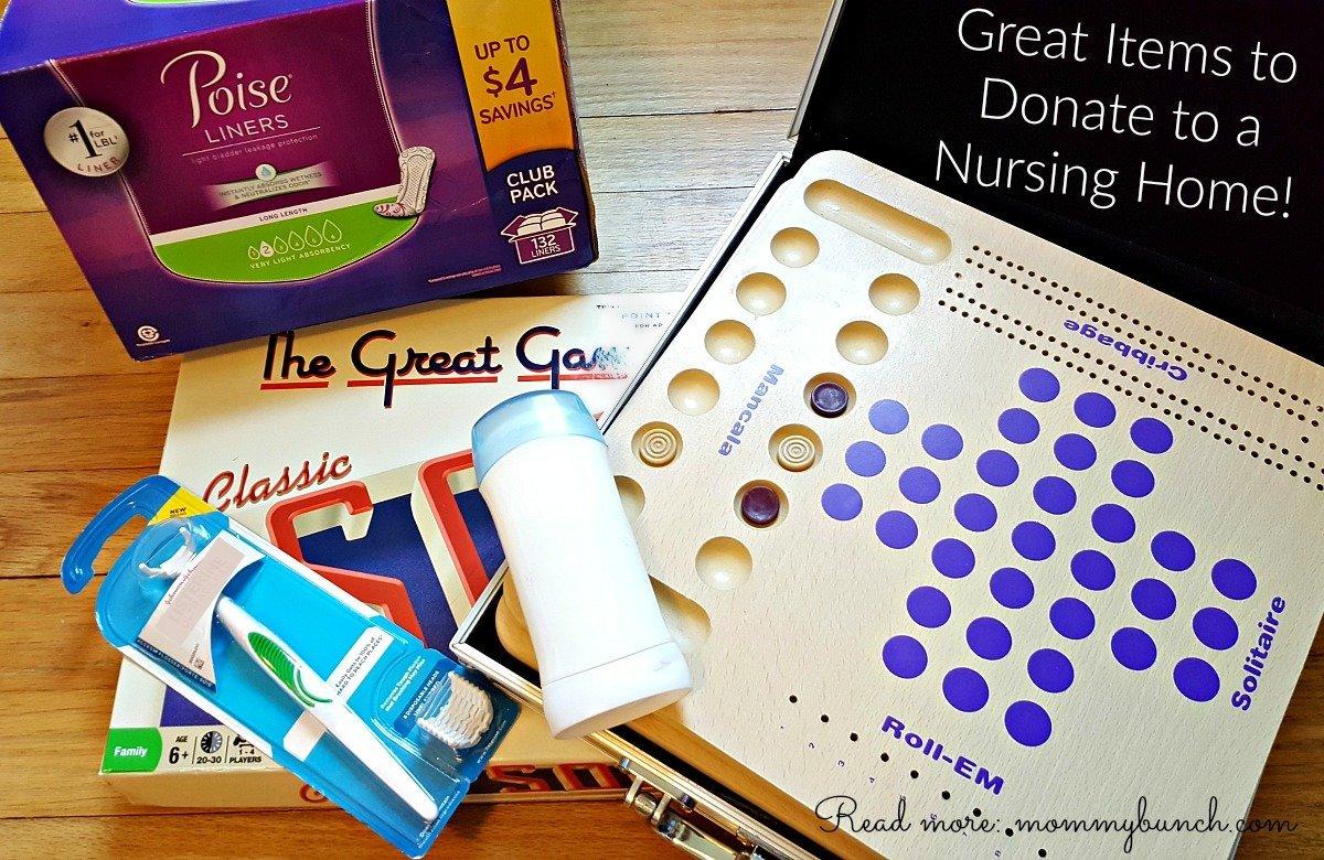 nursing home donations family caregiver