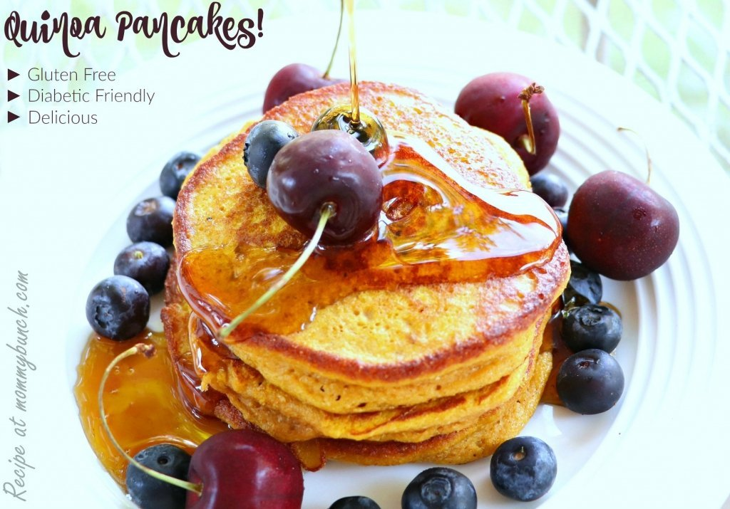 quinoa for breakfast pancakes