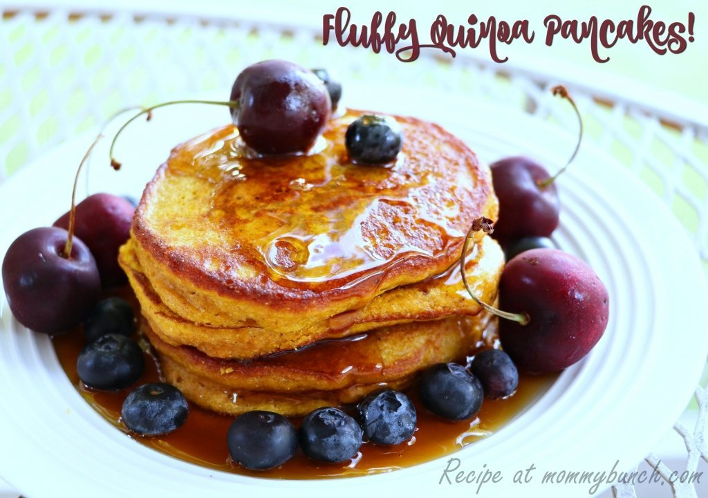 quinoa recipes for breakfast pancakes