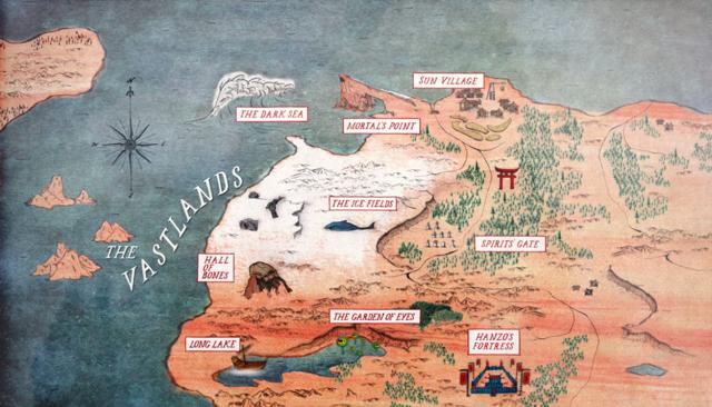 #KuboMovie map