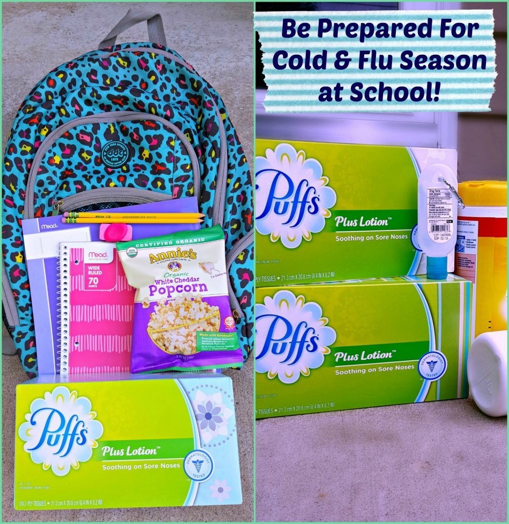 Be Prepared for Cold and Flu Season at Home and School