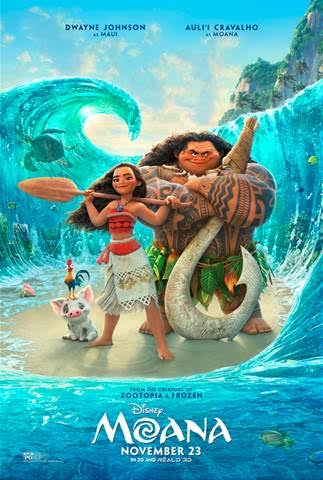 Moana – In Theaters November 23, 2016