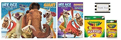 Ice Age coloring pack