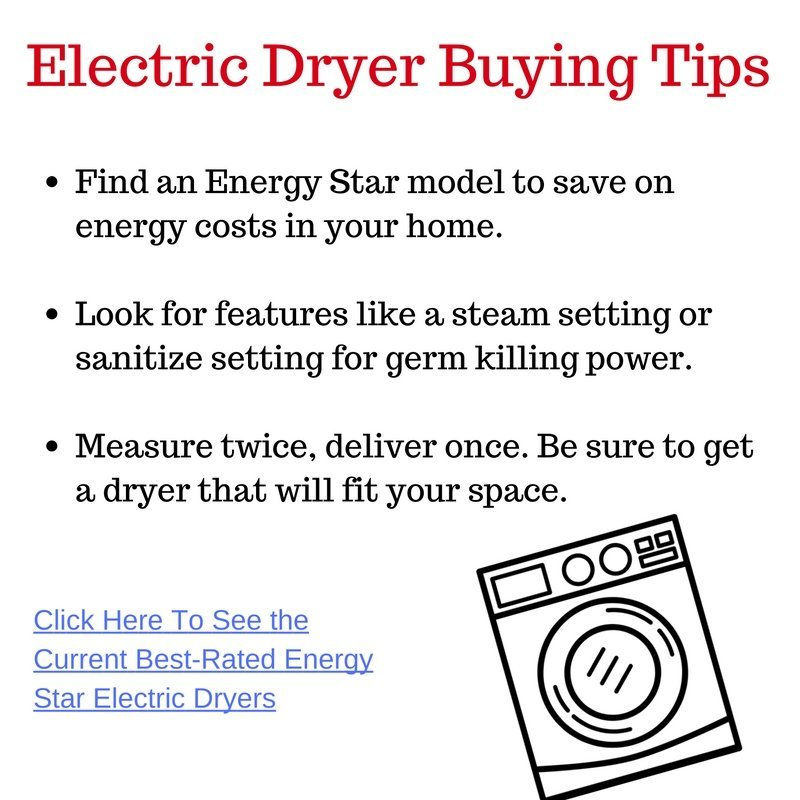 electric-dryer-buying-tips