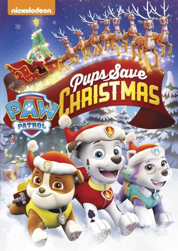 Get the Newest Paw Patrol Kids' Movies – Pups Save Christmas!