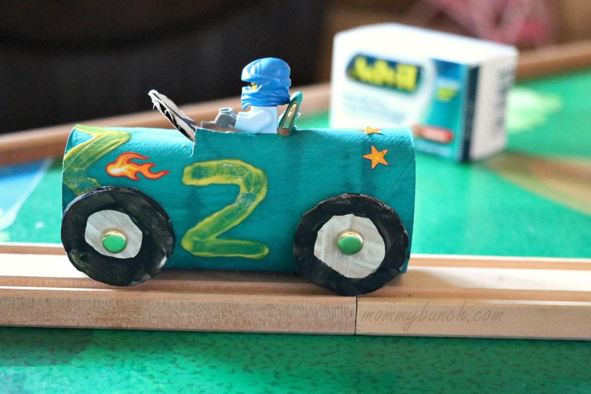 Race Car Crafts For Kids Tutorial – Race Day Fun!