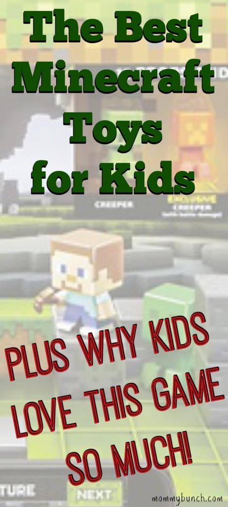 Minecraft Games Kids Play and Love – Plus The Best Minecraft Toys For Kids